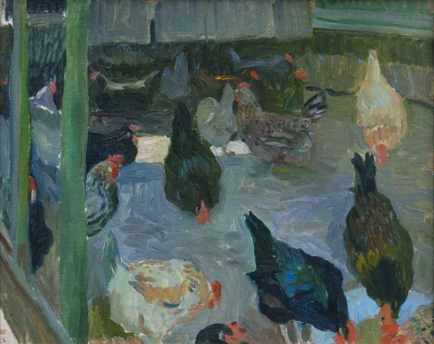 Chicken. Ernst Eitner - photo 1