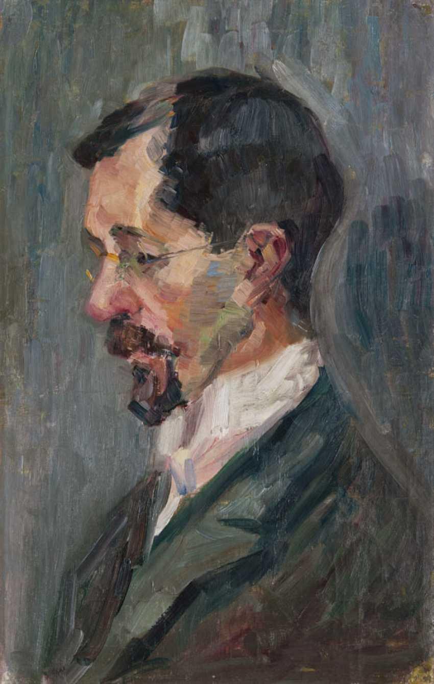 Self-portrait. Ernst Eitner - photo 1