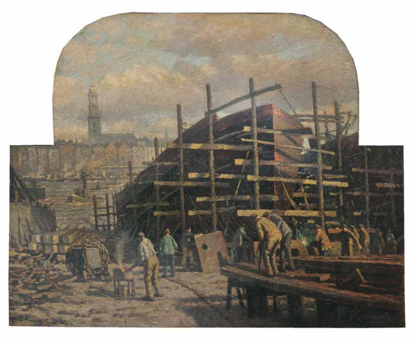 Hamburg-Based Shipyard. Franz Korwan - photo 1