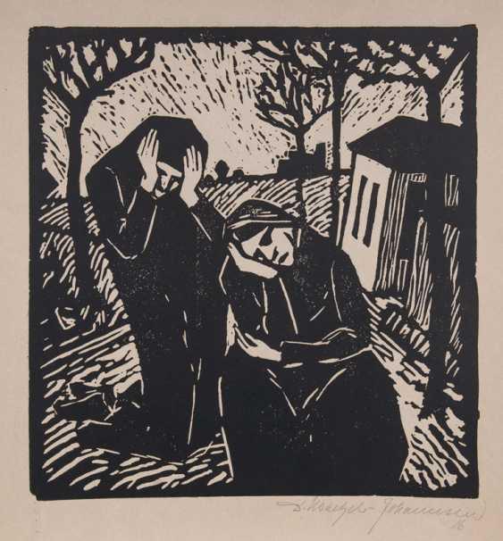 Grieving Women. Dorothea Maetzel-Johannsen - photo 1