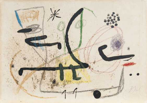 Wonders with variations acrosticas in the garden of Miro. Joan Miró - photo 1