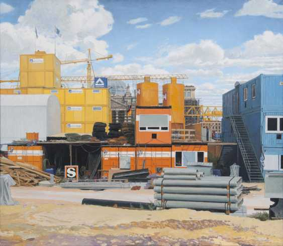 Container at the Reichstag. Fritz Kreidt - photo 1