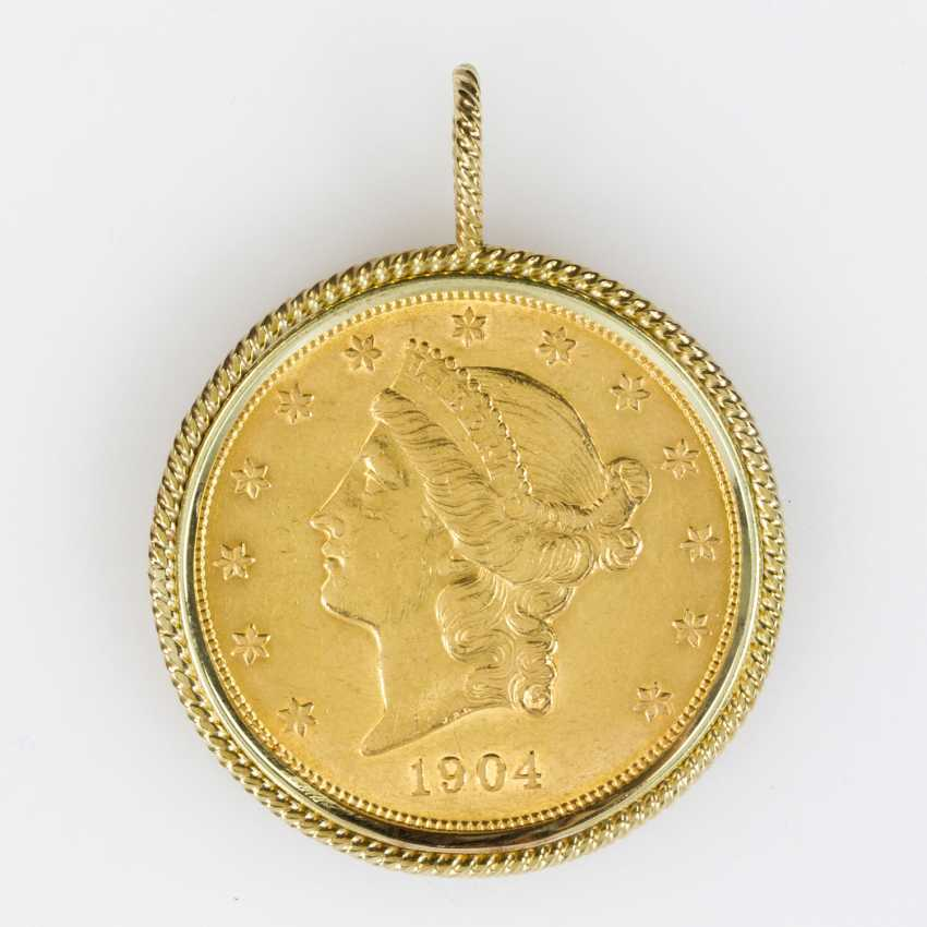 USA/Gold - 20 Dollars 1904, Liberty Head, ss. - photo 1