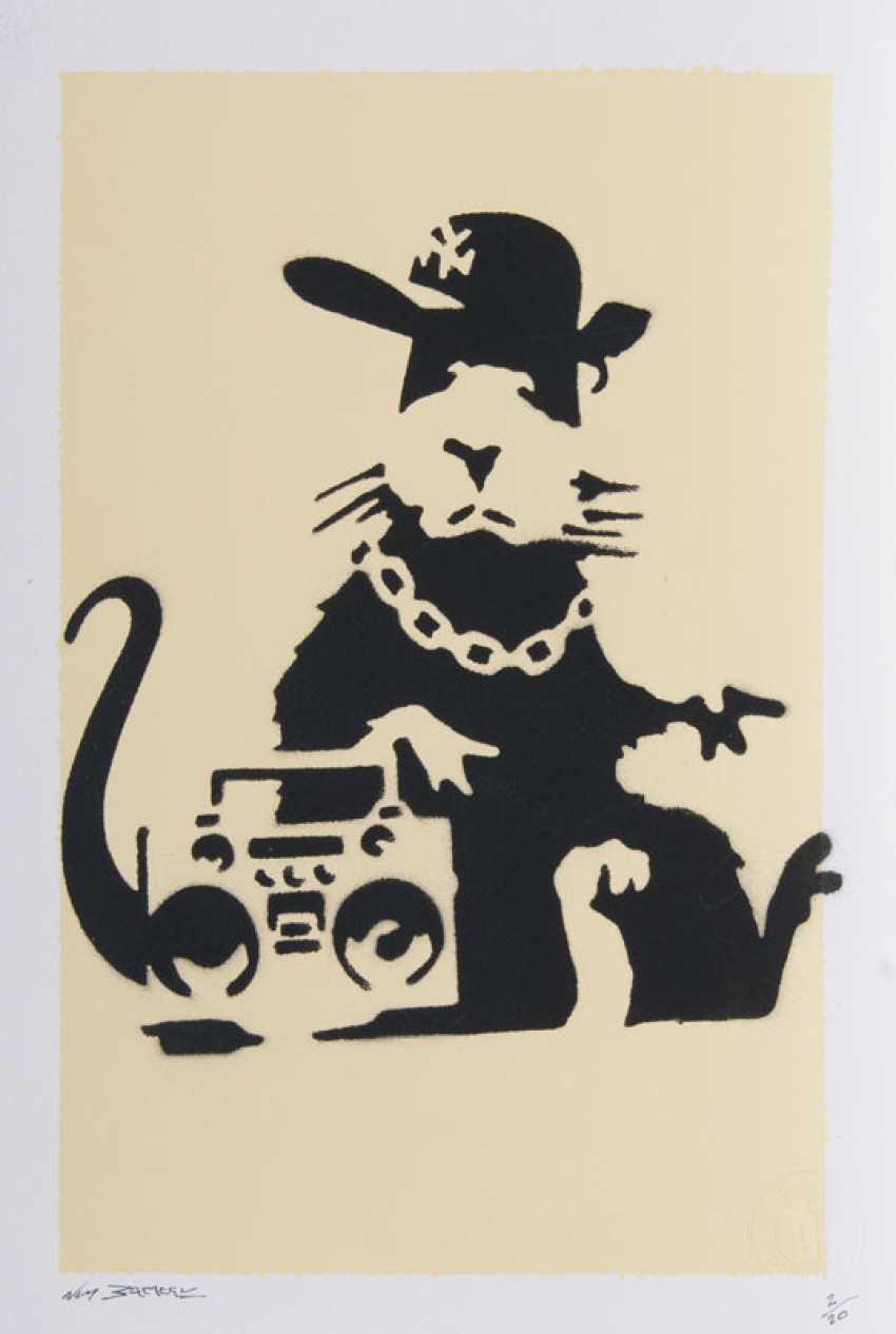 Gangsta Rat. Harry Adams, alias Not Banksy - photo 1
