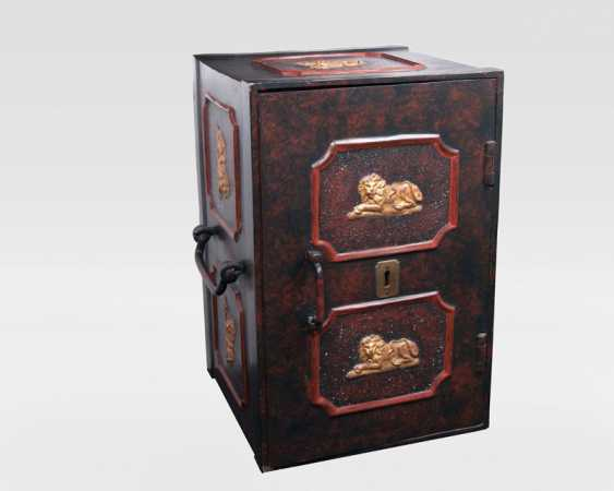 Heavy iron chest as a vault - photo 1
