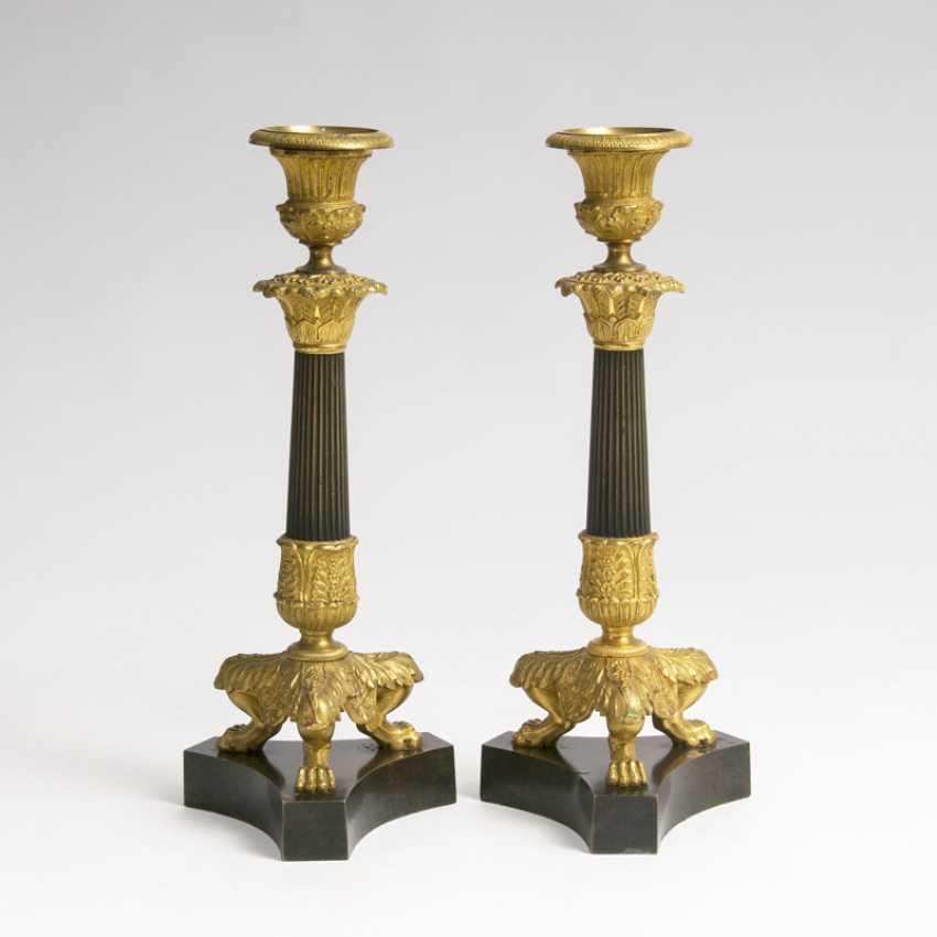 Pair of Napoléon III - Kerzenleuchter - photo 1