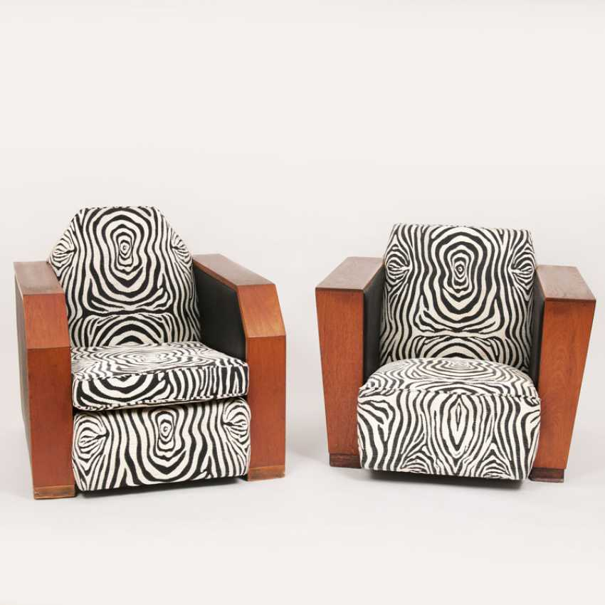 Paar Art-Deco-Sessel - photo 1