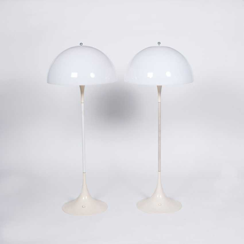 Pair Of Mid-Century Floor Lamps 'Panthella'. Verner Panton - photo 1