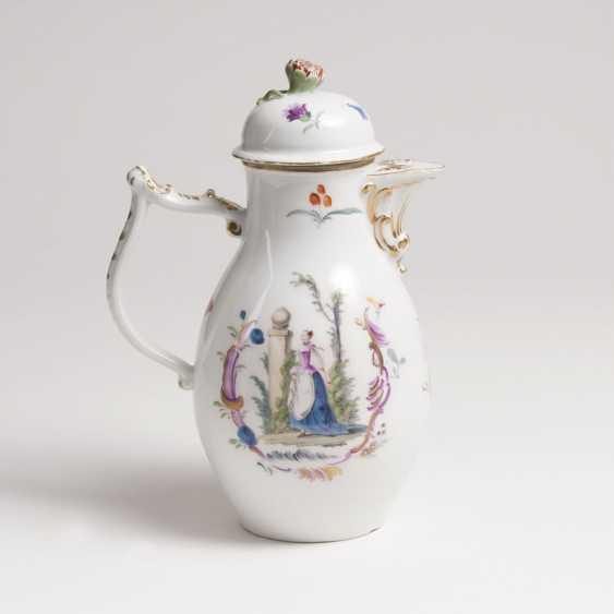 Pot with Watteau-scenes - photo 2