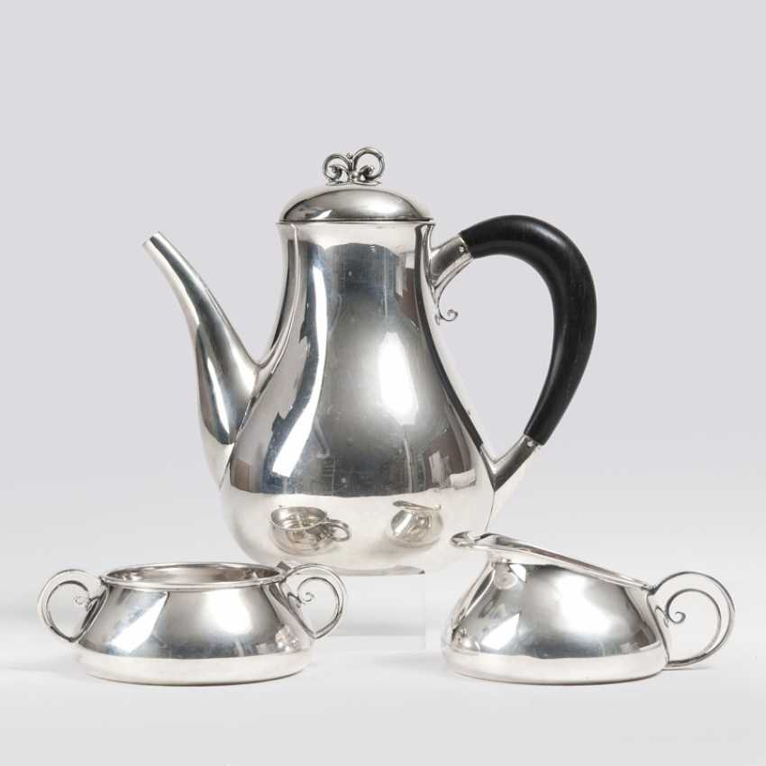 Art Deco Coffee Service. Jens Sigsgaard, active 1932-1960 - photo 1