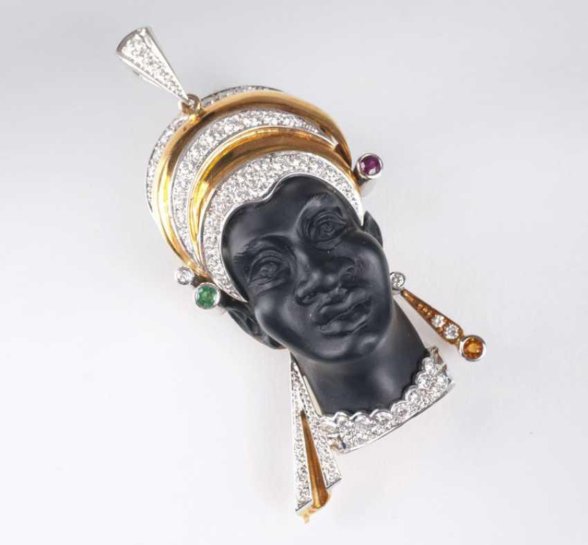 Moretto pendant with Brillant-Rubin-finishing - photo 1