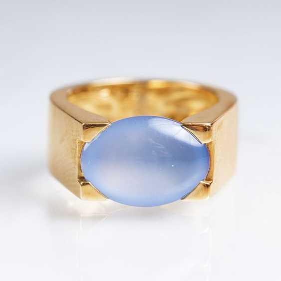Moon stone Ring, gegründet1847 in Paris - photo 1