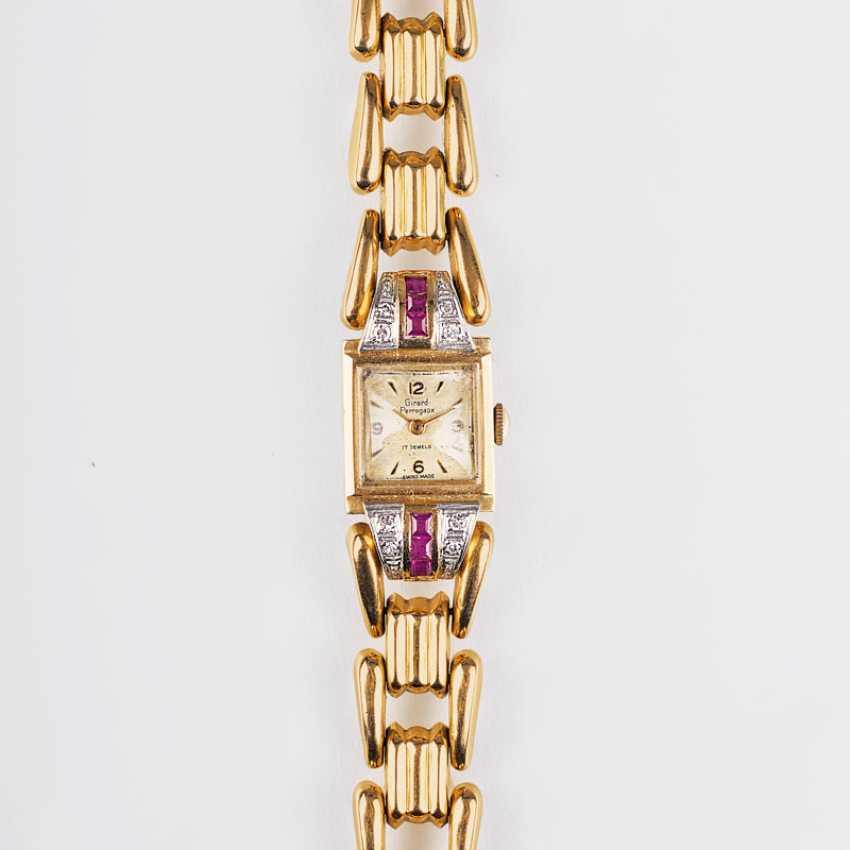 Art Deco Damen-Armbanduhr, gegründet1856 in La Chaux-de-Fonds - photo 1