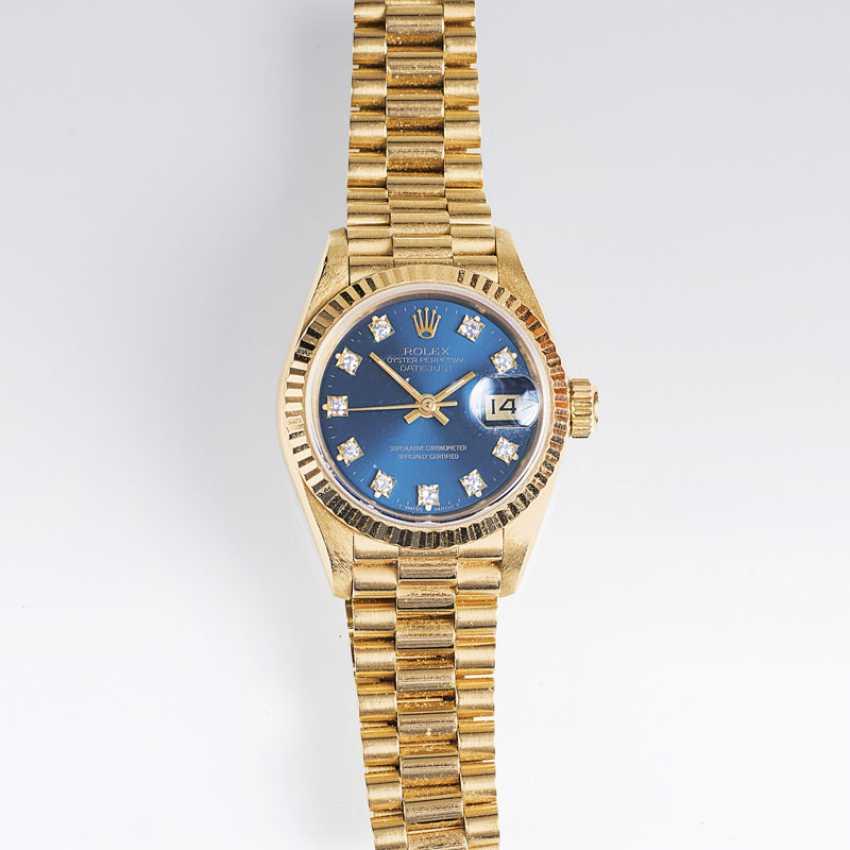 Women's wrist watch 'Oyster Perpetual Lady Datejust with diamonds, reg. 1908 - photo 1