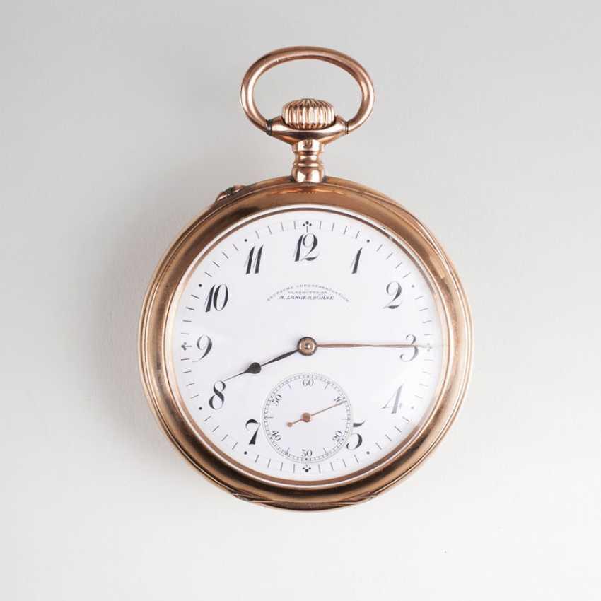 Pocket watch, gegründet1845 in Glashütte - photo 1