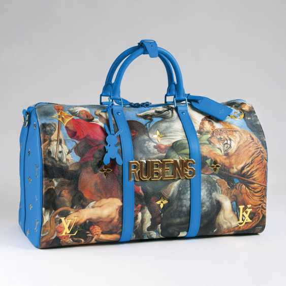 Luxurious master LV x Koons Keepall 50 'Rubens'. Louis , in cooperation with Jeff Koons - photo 1
