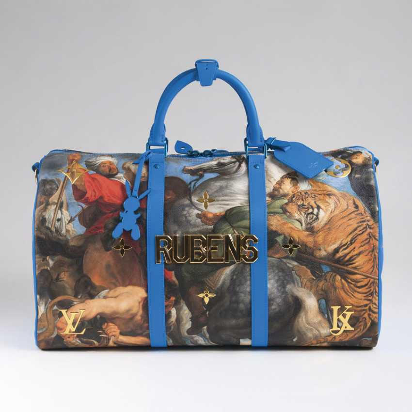 Luxurious master LV x Koons Keepall 50 'Rubens'. Louis , in cooperation with Jeff Koons - photo 2