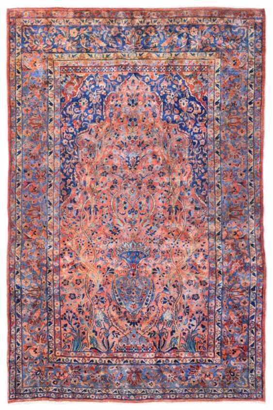 Cork Wool-Keschan Prayer Carpet - photo 1