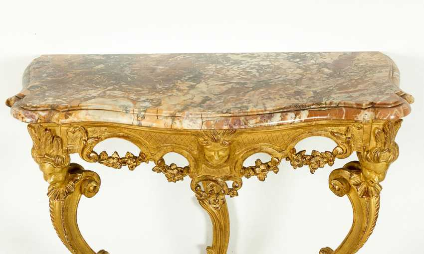 To Piedmontese baroque console - photo 2