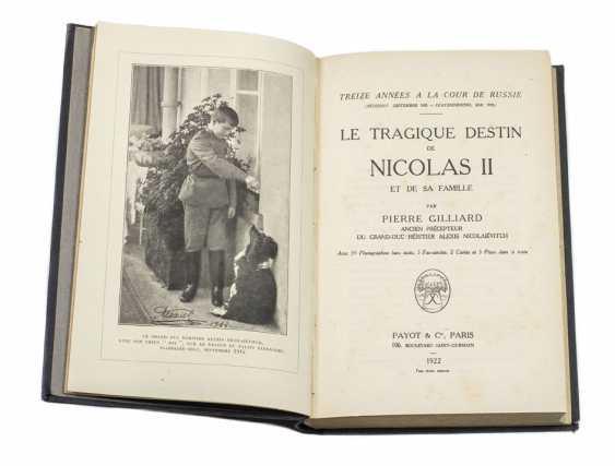 GILLARD, Peter. The tragic fate of Nicolas II and his family. Paris, 1922. - photo 1