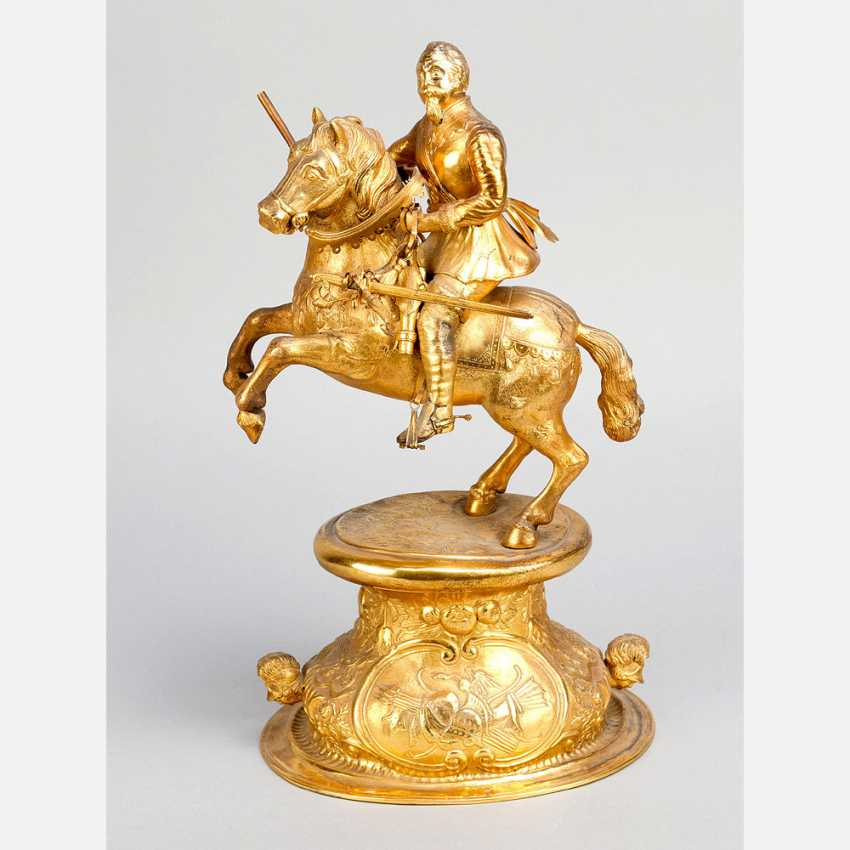 German silver sculpture of Gustav Adolf II. (1594-1632) - photo 1
