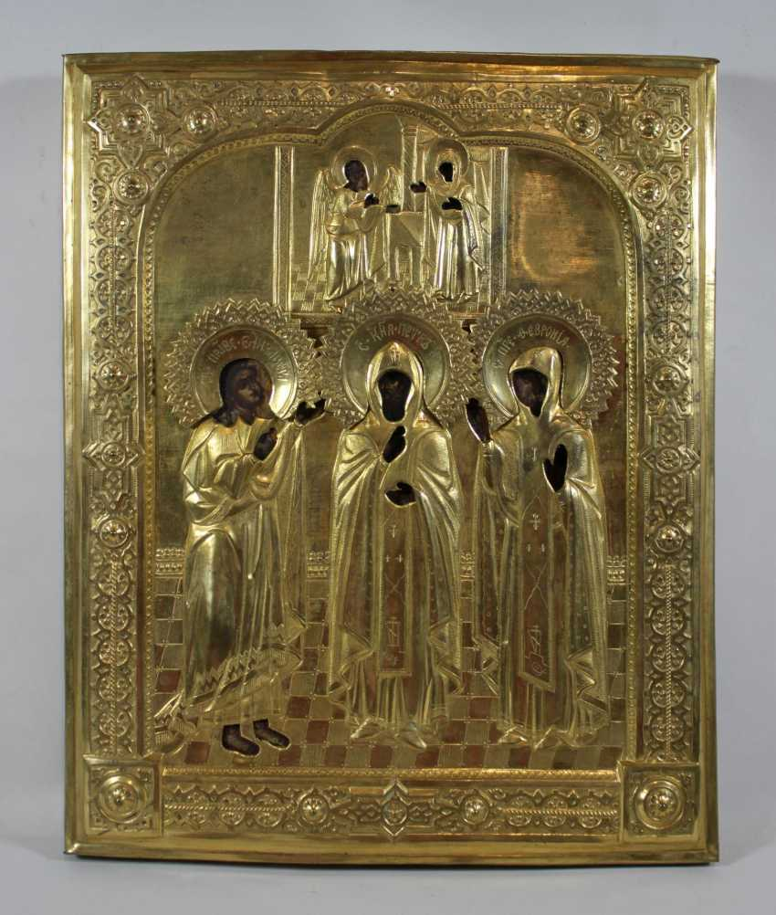 """Annunciation to Mary"" with selected saints - photo 2"