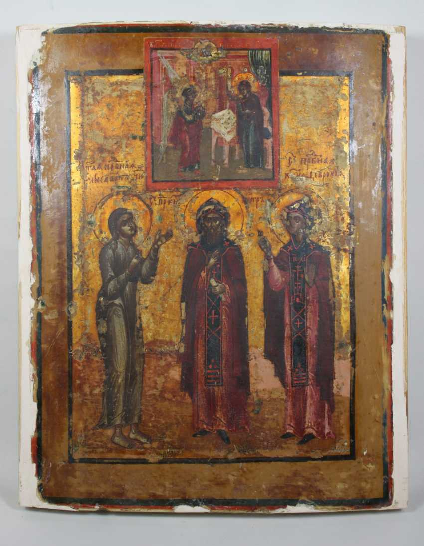 """Annunciation to Mary"" with selected saints - photo 3"