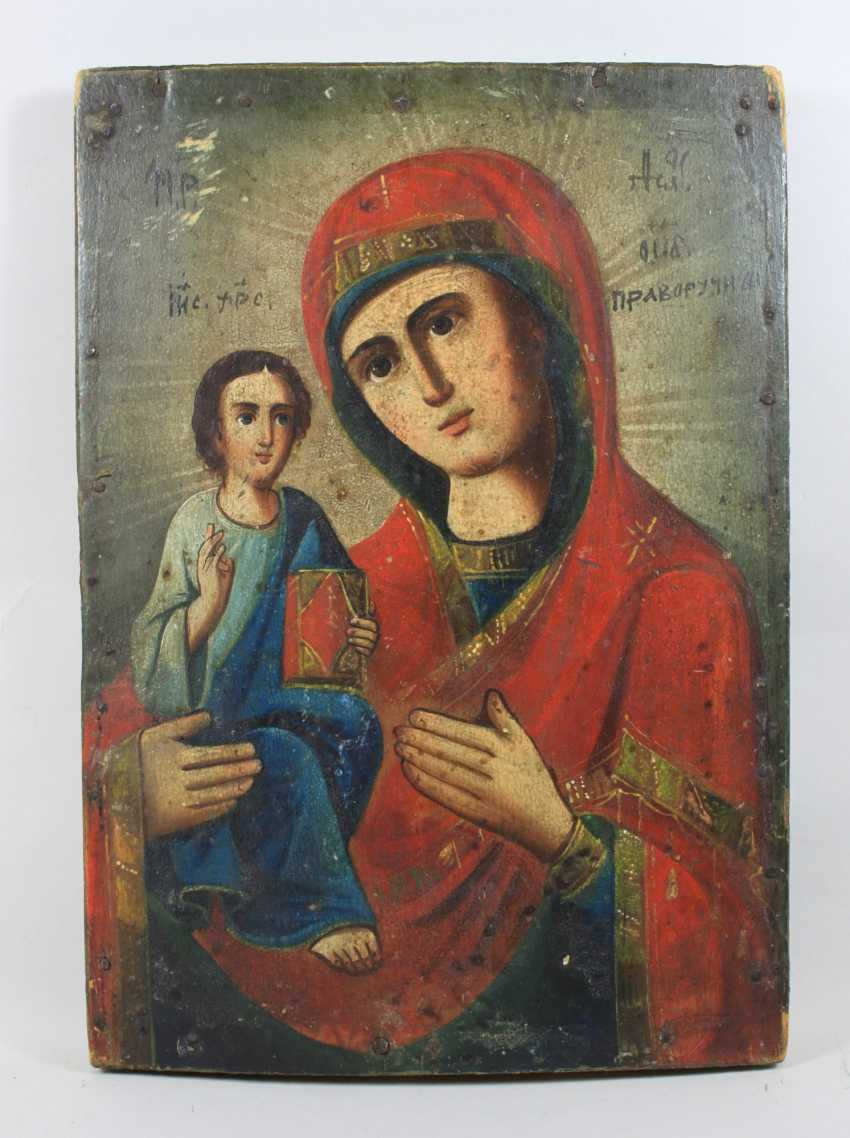 """The Mother Of God """"Pravorutschiza"""" (""""Right-Handed"""") - photo 1"""