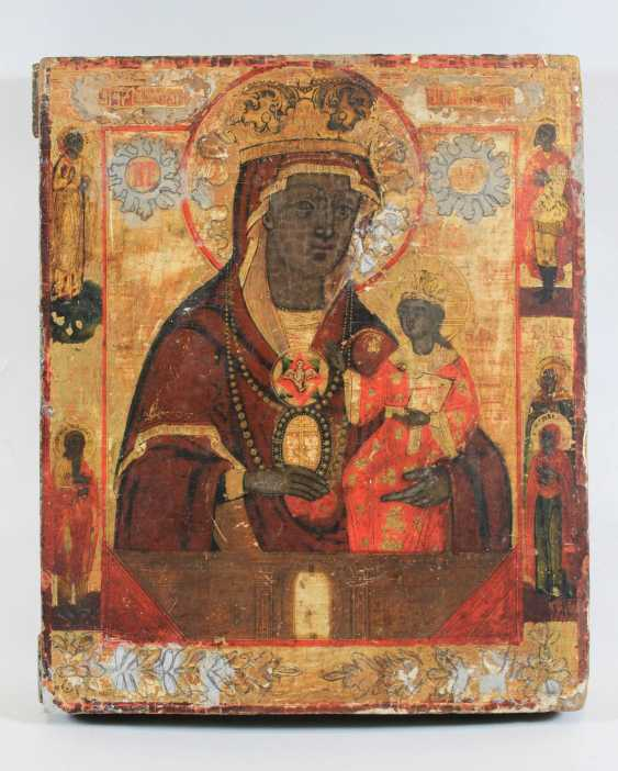 Mother of God of częstochowa with the edge of the Holy - photo 1