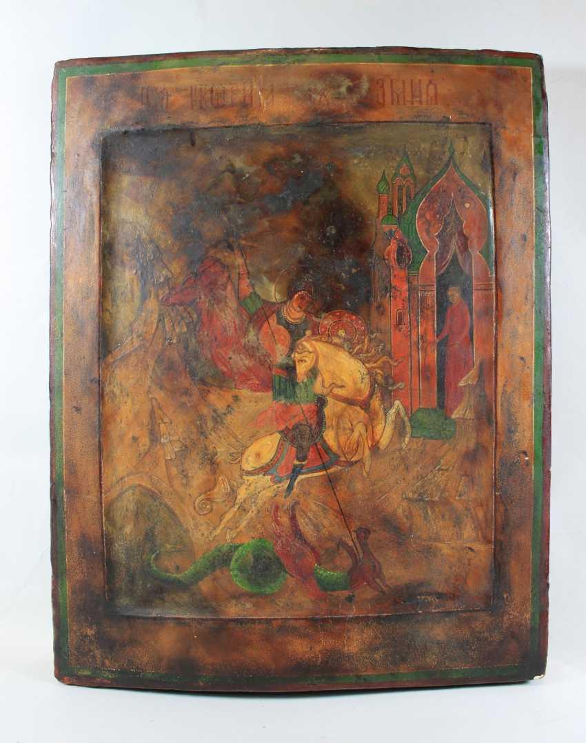 Saint George the dragon Slayer - photo 1