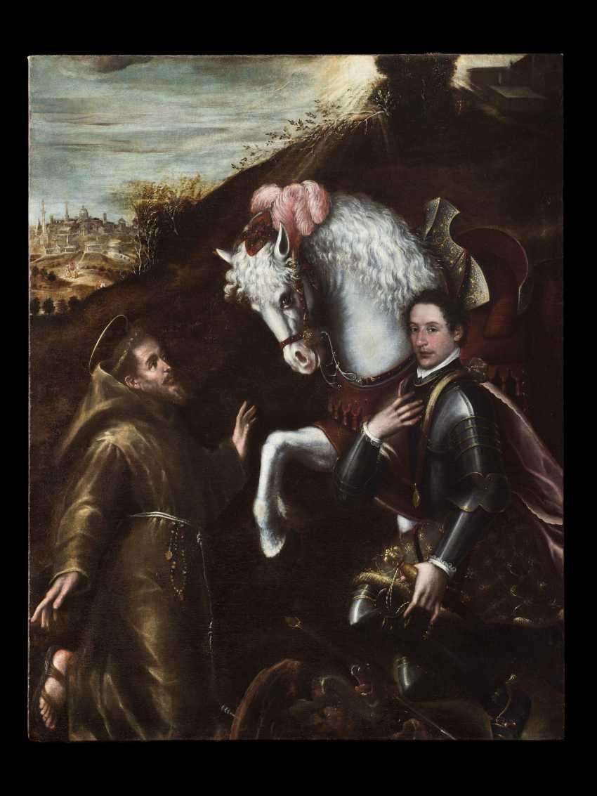 Saint Francis and Saint George - photo 1