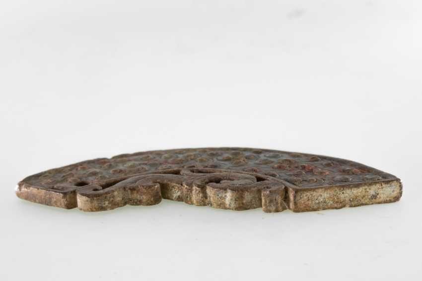 A PHOENIX JADE PENDANT HUANG HAN DYNASTY (206BC-220AD) - photo 3