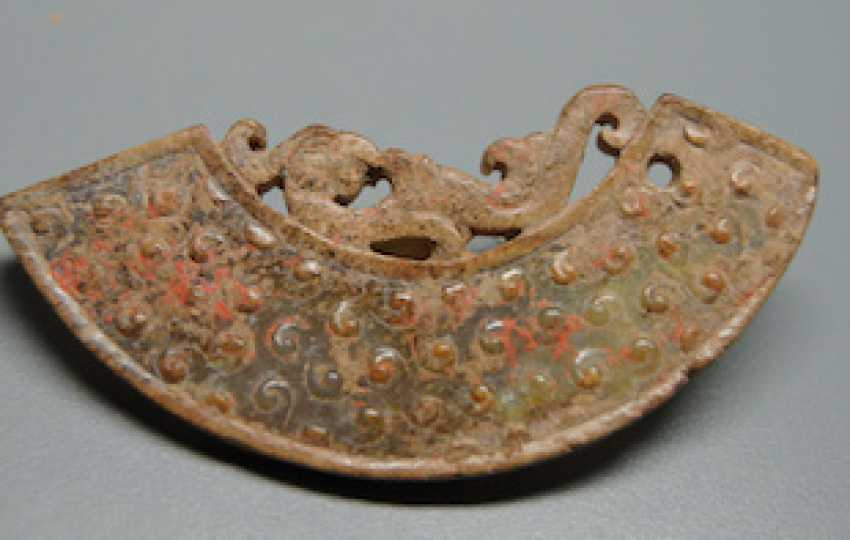 A PHOENIX JADE PENDANT HUANG HAN DYNASTY (206BC-220AD) - photo 5