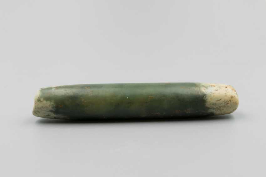 A JADE BEAD HONGSHAN CULTURE (4700-2900BC) - photo 3