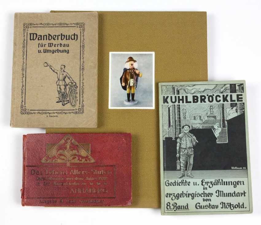 4 books Erzgebirge regional literature - photo 1