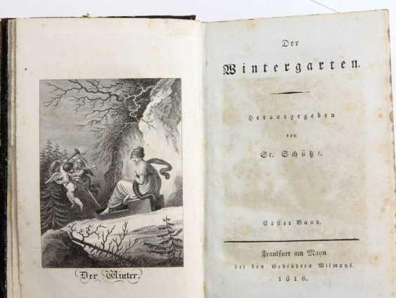 Almanac winter garden from 1816 - photo 1