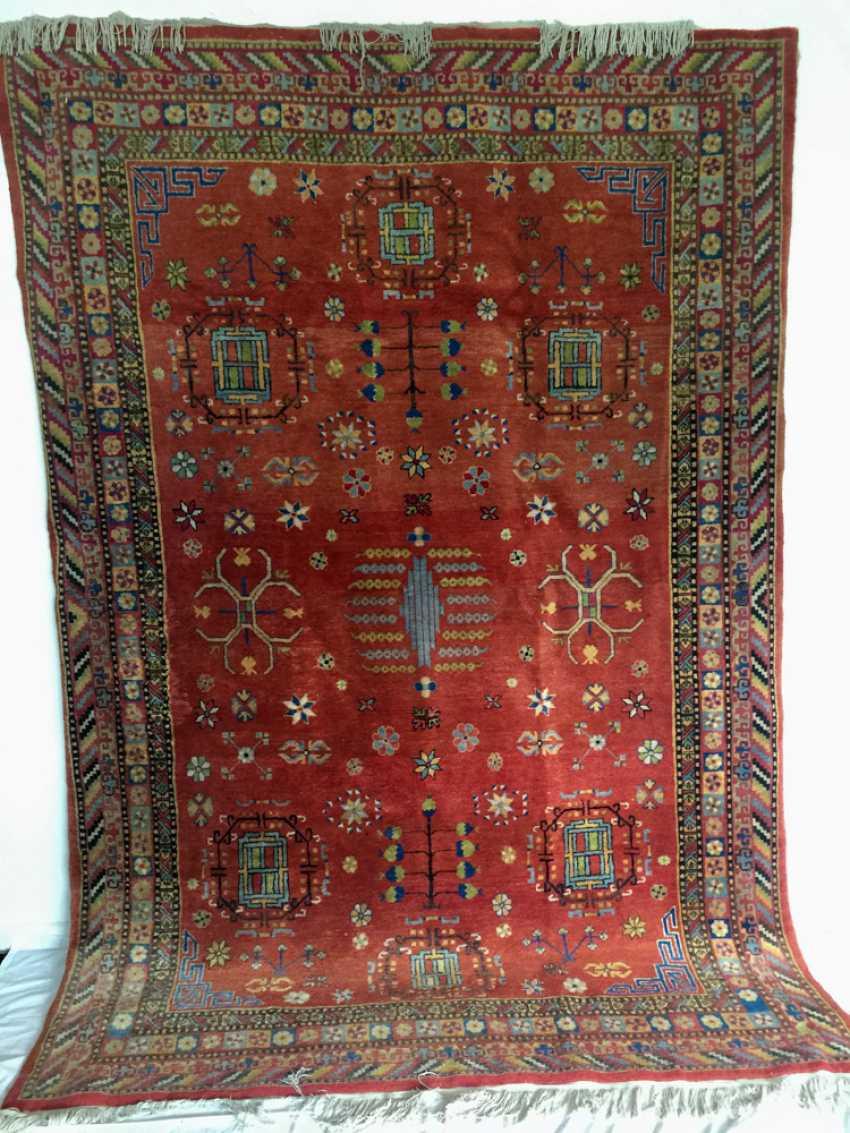 SAMARKAND, wool, 1930s, cotton, East Turkistan-years - photo 1