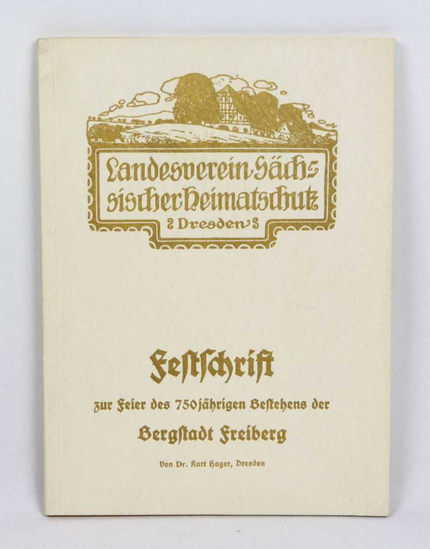 Festschrift Mountain City Of Freiberg - photo 1