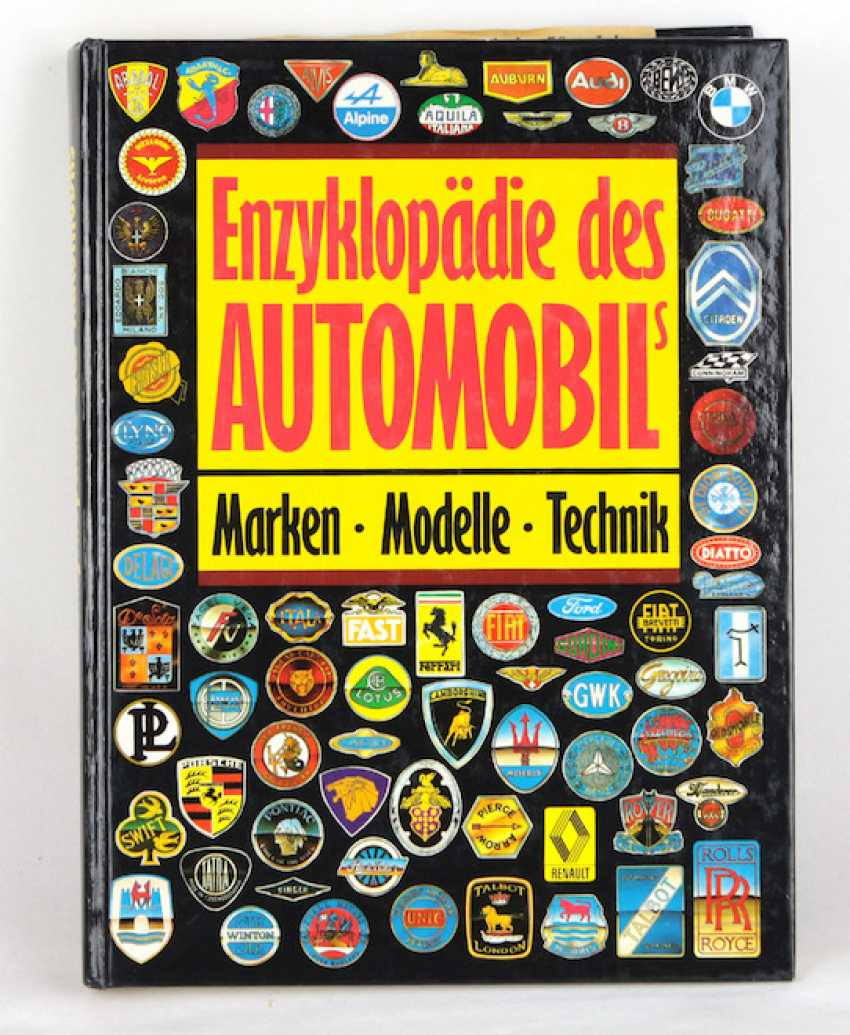 Encyclopedia of the automobile - photo 1
