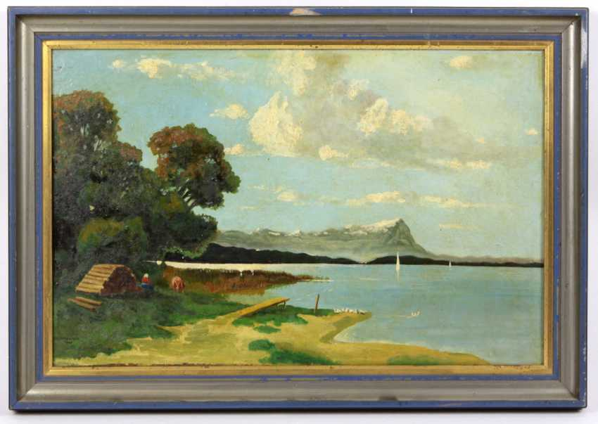 At The Lakeside, Haustein, W. 1941 - photo 1