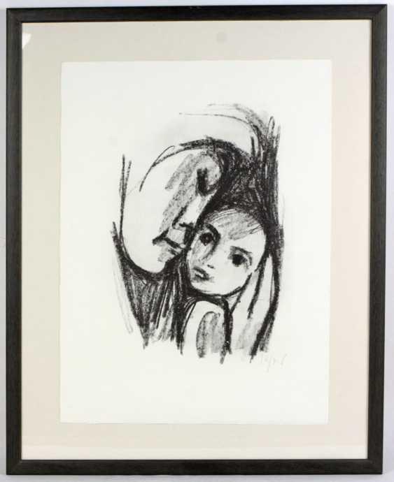 Mother with child - Tetzner, Heinz - photo 1
