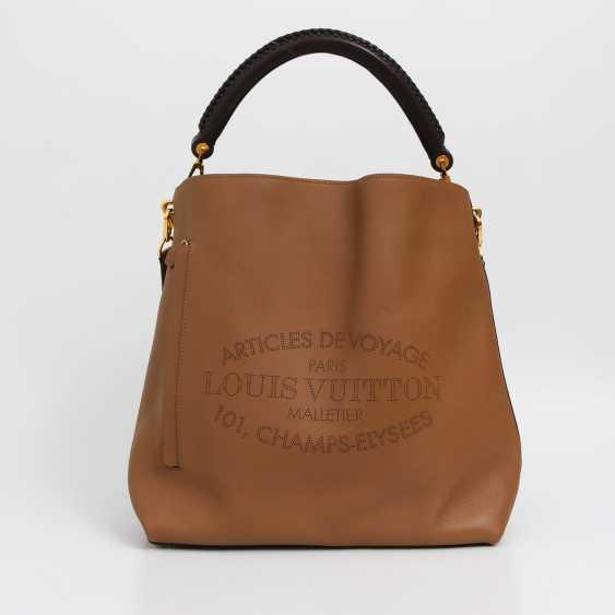 """LOUIS VUITTON elegant shoulder bag """"BAGATELLE"""", collection 2014. - photo 1"""