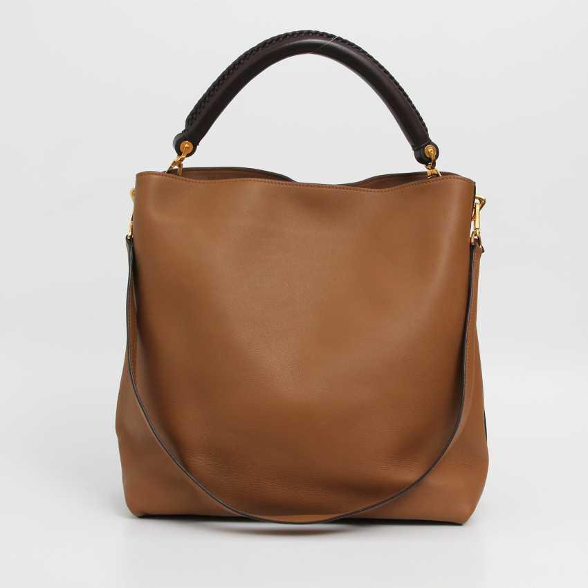 """LOUIS VUITTON elegant shoulder bag """"BAGATELLE"""", collection 2014. - photo 3"""