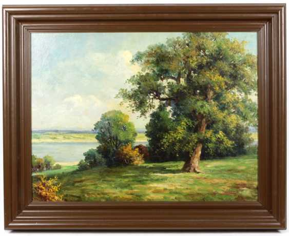 Trees on the lake - Einhiger, A. - photo 1