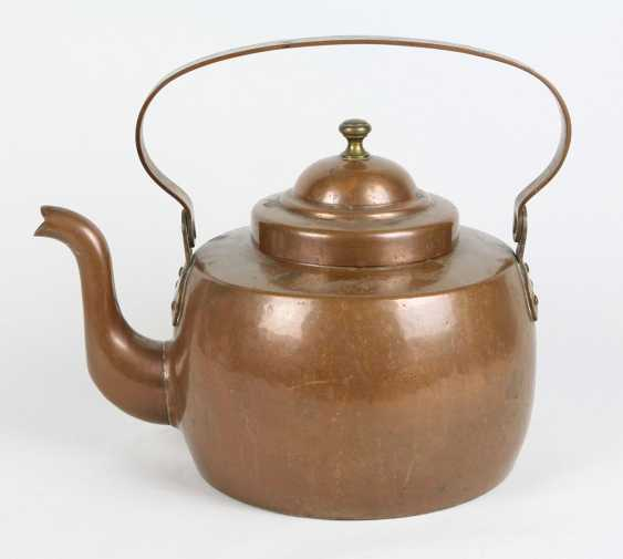 large copper boiler 1800 - photo 1