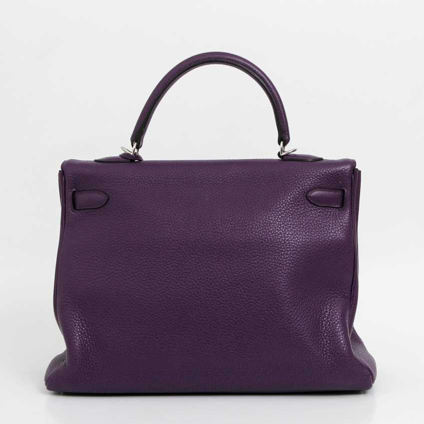 "HERMÈS sought-after style icons handbag ""RETOURNE KELLY BAG 35"", collection 2014. - photo 4"
