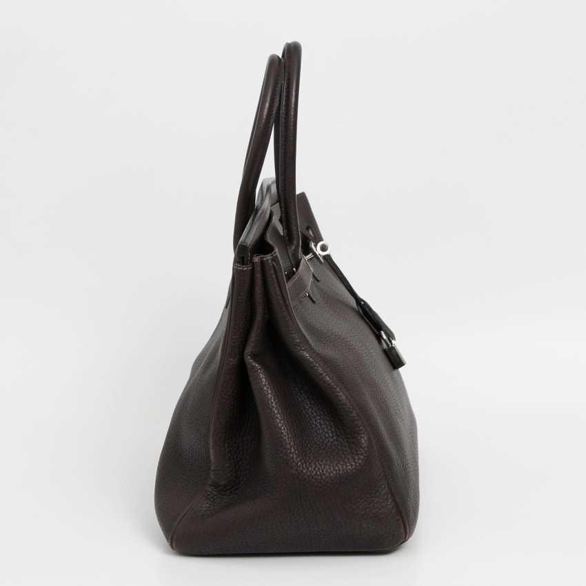 """HERMÈS exclusive handbag """"BIRKIN BAG 35"""", collection 2003. - photo 3"""