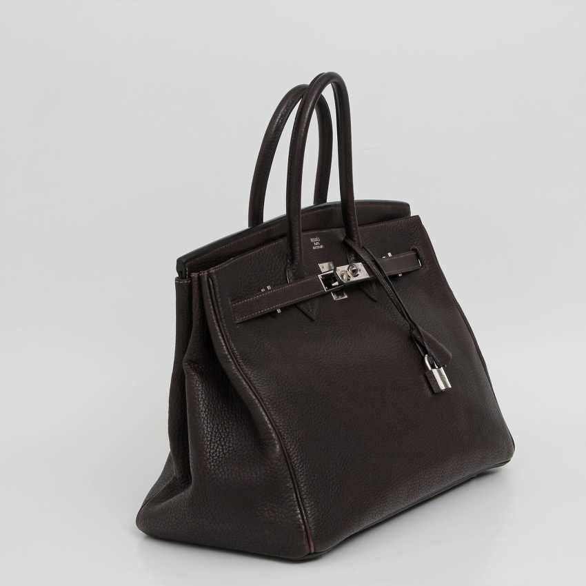 """HERMÈS exclusive handbag """"BIRKIN BAG 35"""", collection 2003. - photo 2"""