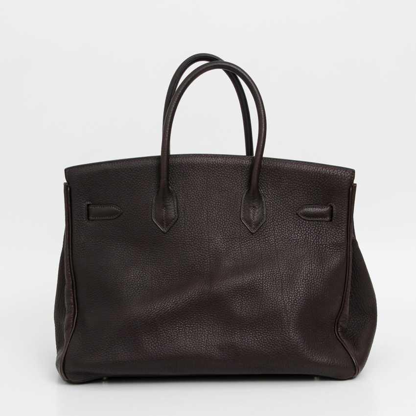 """HERMÈS exclusive handbag """"BIRKIN BAG 35"""", collection 2003. - photo 4"""