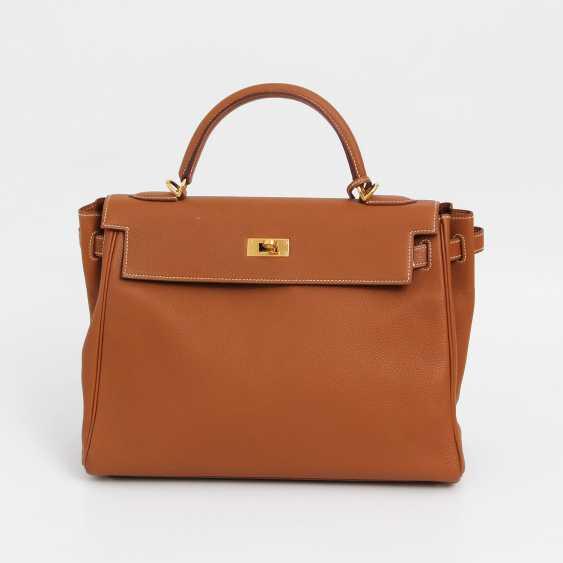 """HERMÈS timeless Henkel/shoulder bag """"RETOURNE KELLY BAG 32"""" - photo 1"""